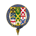 Coat of arms of Sir Robert Walpole, KG, KB.png