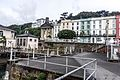 Cobh (pronounced Cove) dominates Cork Harbour one of the largest natural harbours in the world (7359306822) (2).jpg