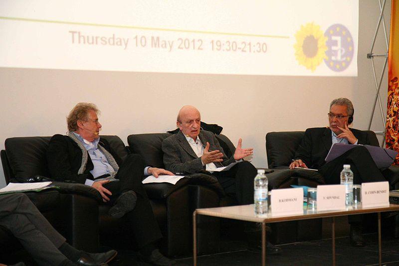 File:Cohn-Bendit, Frangié and Jendoubi on Arab Spring and EU's response.jpg