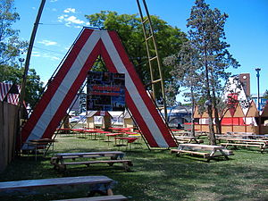 Austrian Argentines - Austrian Argentine community of Rosario, Santa Fe during the National Festival of Communities in 2006.