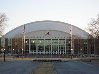 Coleman Coliseum Multi-purpose arena at the University of Alabama in Tuscaloosa, Alabama, United States