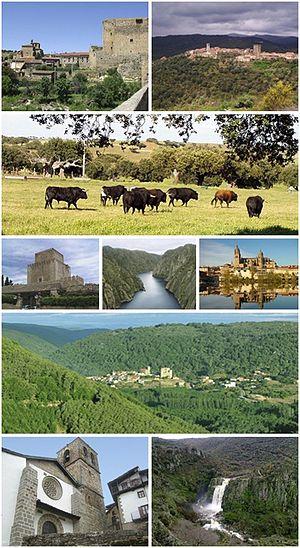 Province of Salamanca - Image: Collage provincia de Salamanca