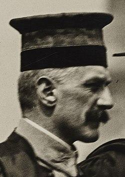 Colleges and Universities - Columbia University - Ferdinand Baldensperget at Columbia University, New York, Commencement, 1918 - NARA - 26425600 (cropped).jpg