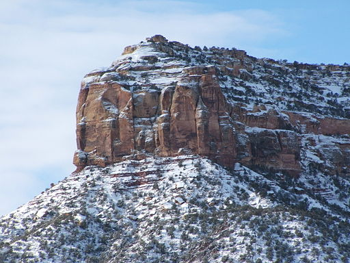 Colorado National Monument Snow 01