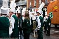 Colorado State University Marching Band, Colorado, USA - Getting Ready For The 2013 Patrick's Day Parade (8566943492).jpg