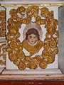 Commana (29) Église Saint-Derrien Retable des cinq plaies 03.JPG