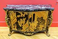 Commode from Strawberry Hill House, Pierre Langlois, London, 1763, Chinese lacquer, japanning, brass mounts, verde antico marble - California Palace of the Legion of Honor - San Francisco, CA - DSC02816.jpg