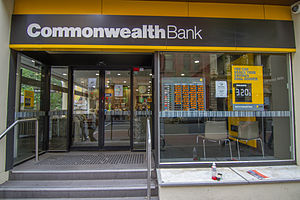 Commonwealth Bank - Commonwealth Bank branch office