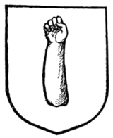 Fig. 261.—An arm couped at the elbow.