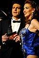 Con Giampaolo Morelli a Lady Burlesque - Sky uno.jpg
