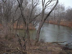 Little Fishing Creek - The mouth of Little Fishing Creek (left)