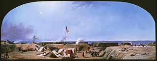 Bombardment of Fort Moultrie, Charleston Harbor, South Carolina