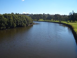 Dulwich Hill, New South Wales - Cooks River