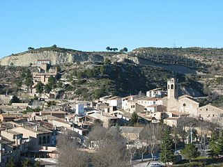 Copons Municipality in Catalonia, Spain