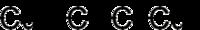 Struktur von Kupfer(I)-acetylid