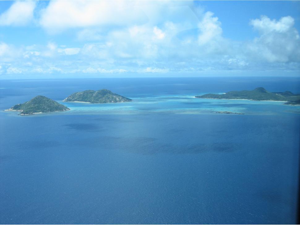 Coral Reef aerial