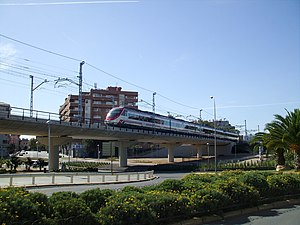 Rail transport in Catalonia - New Cornellà station entrance