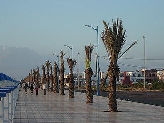 Safi, Morocco - Image: Corniche souiria leqdima