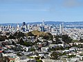 Corona Heights and skyline from Tank Hill, May 2020.JPG