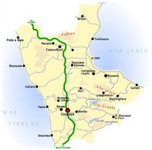 Cartina Geografica Cosenza E Provincia.Provincia Di Cosenza Wikipedia