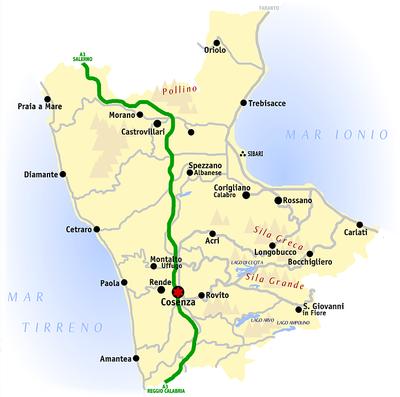 la Provincia di Cosenza