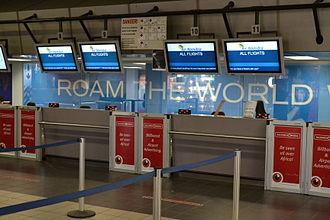 Hosea Kutako International Airport - Check-in area