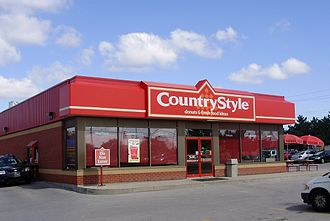 Country Style - A Country Style location in Milton, Ontario with mid-1990s branding