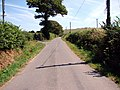 Country lane near Glanystwyth - geograph.org.uk - 208051.jpg