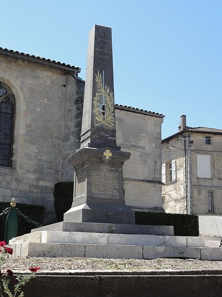 Cousances-les-Forges (Meuse) monument aux morts