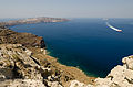 Crater rim - view from Athinios port - Santorini - Greece - 08.jpg