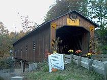 Creek Road (Ashtabula County, Ohio) Covered Bridge 2.jpg