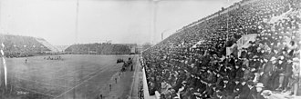 1903 college football season - Image: Crimson vs. Big Green football game 1903 11 14