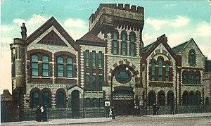 Cross Lane drill hall, Salford - Cross Lane drill hall