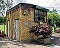 Crouch End Cricket Club scoreboard in Haringey, London England.jpg