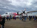 Crowds on the second public day at the 2015 Australian International Airshow 11.jpg