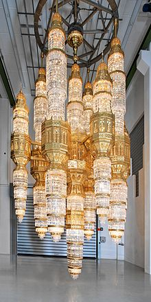 One Of The Largest Chandeliers In World Ever Produced For Al Ameen Mosque Muscat Oman Shortly Before Delivery