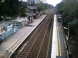 Cuddington, Eddisbury - Cuddington railway station