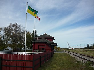 Cudworth, Saskatchewan - Cudworth Heritage Museum Former CN station