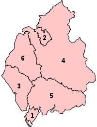 Parliamentary constituencies in Cumbria