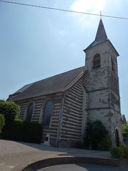 Curgies (Nord, Fr) église 02