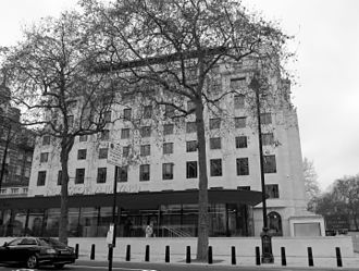 Scotland Yard - The current site of New Scotland Yard, formally the Curtis Green Building