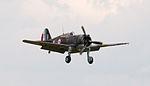 Curtiss Hawk 75 No 82 coming into land (5923318367).jpg