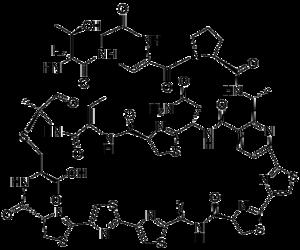 Cyclothiazomycin - Image: Cyclothiazomycin A
