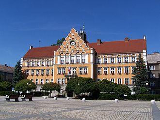 Český Těšín - Town hall of Český Těšín