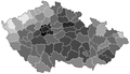 Czech parliamentary election 2010 - districts - turnout.png