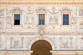 Détail de la façade de la villa Médicis (Rome) (5841258249).jpg