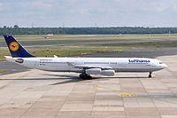 D-AIGV - A343 - Lufthansa