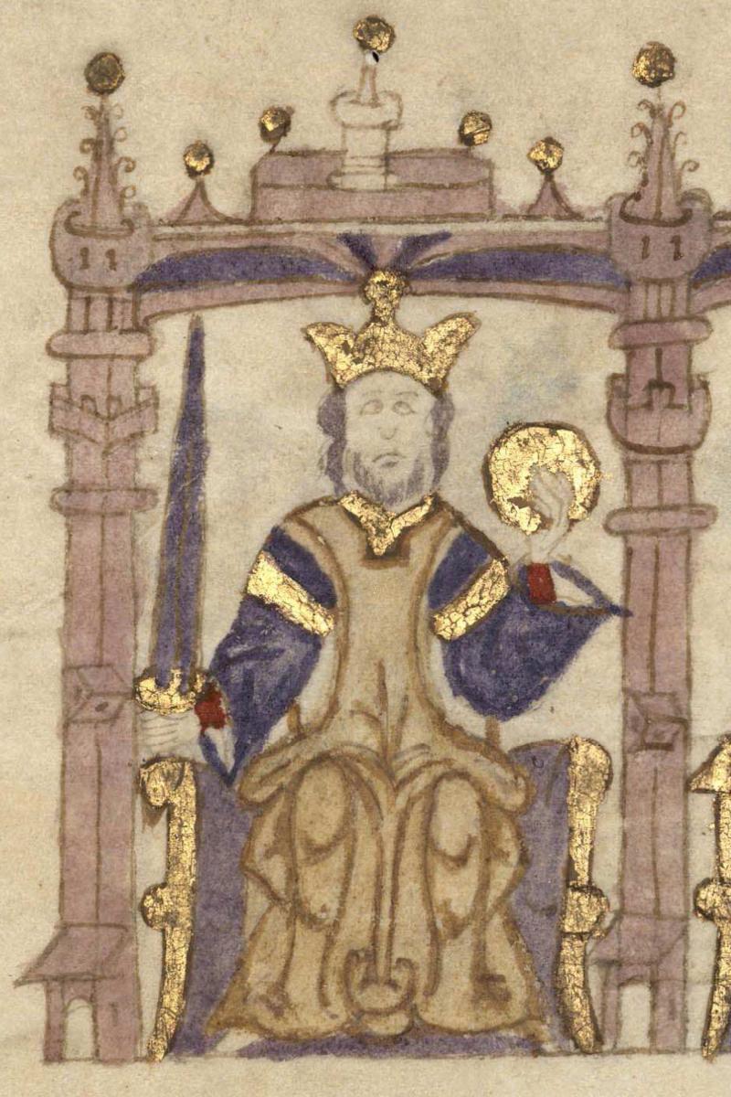 Sancho I, rey de Portugal.