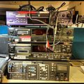 DAT dubbing console at BBC 6 Music - Yesterday's technology well-used redundant ....jpg
