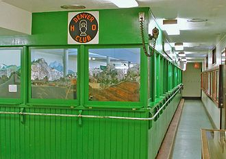 Colorado Railroad Museum - The Denver HO Model Railroad Club is located in the basement of the Colorado Railroad Museum.